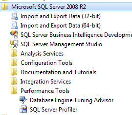 SQL Server Profiler - Lancement
